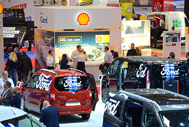 A large stand at The Commercial Vehicle Show - image