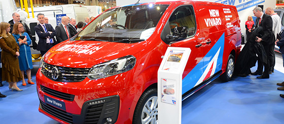 View the Commercial Vehicle Show plan - image
